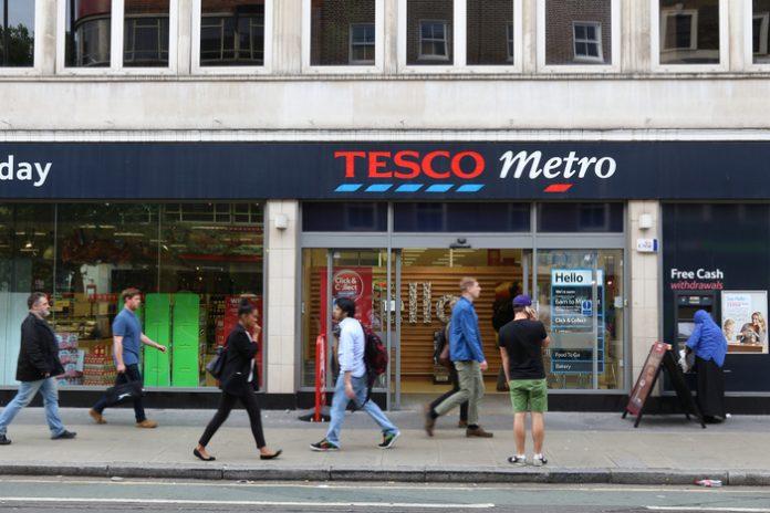 Tesco Metro rebranding