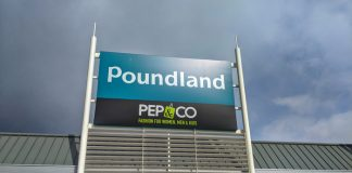 "Poundland opens its 350th Pep&Co fashion ""shop-in-shop"""