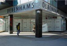 Debenhams flagship store closures