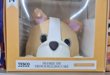 Tesco Frankie the French bulldog