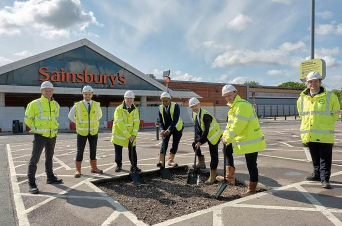 Construction begins for new Sainsbury's flagship in Hendon
