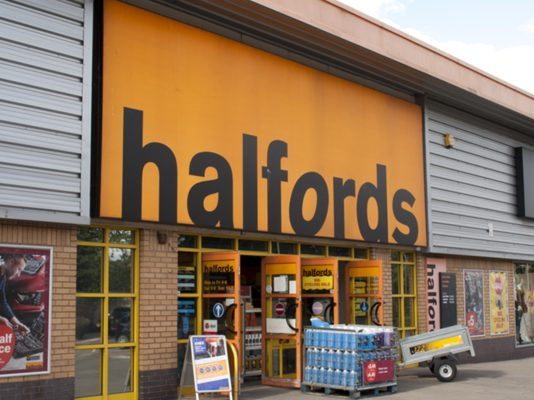 Halfords has appointed Virgin Active's Jo Hartley as its new chief financial officer.