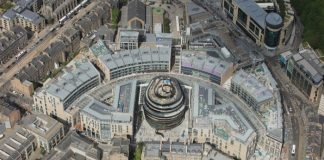 St James Quarter Edinburgh Scotland shopping centre new opening