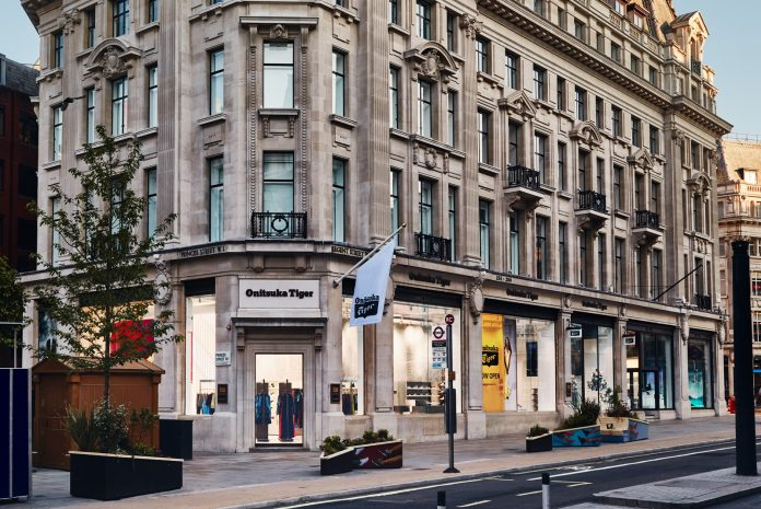 Onitsuka Tiger opens its biggest global flagship store in London