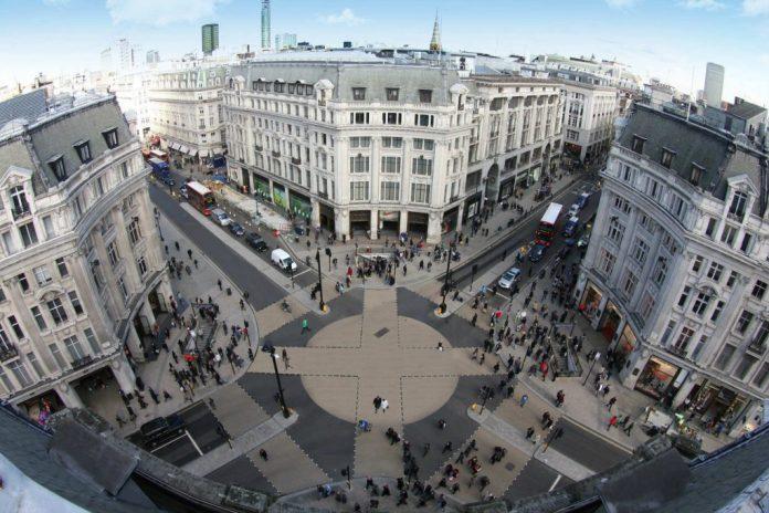 Oxford Street retail void rates