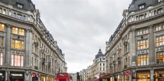 London's Oxford Street is launching a sustainability campaign at its high street stores, including John Lewis, Selfridges and Urban Outfitters.