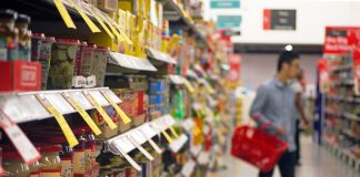 Shop prices slide further in June