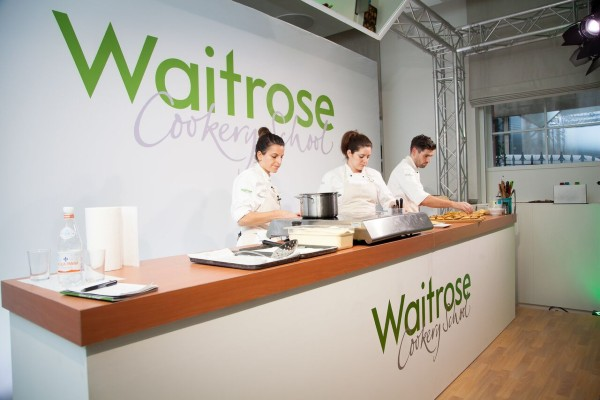 Waitrose Cookery School to host free cooking session on how to prepare healthy meals for Healthy Eating Week.