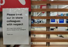 100 UK retailers demand new laws against retail violence