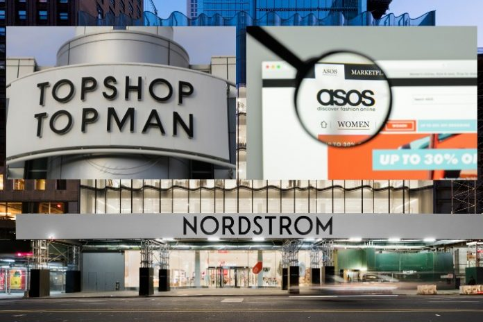 Asos launches Nordstrom joint venture to sell Topshop clothes in US stores