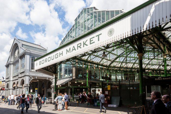 Face masks to remain compulsory in London's Borough Market