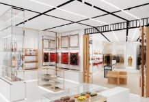 Burberry has opened the first flagship store to feature its new global design concept at No.1 Sloane Street in London's Knightsbridge.