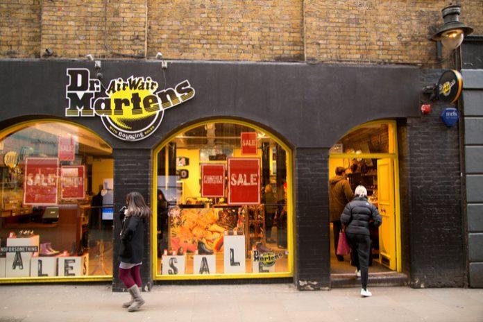 Dr Martens posts 31% quarterly sales uptick on pre-pandemic levels