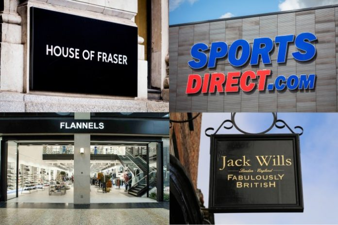 Mike Ashley's Frasers Group set for