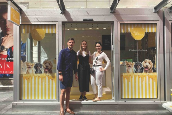 The Original Dog Bakery has opened its first ever long term trading space at Liverpool One shopping destination.