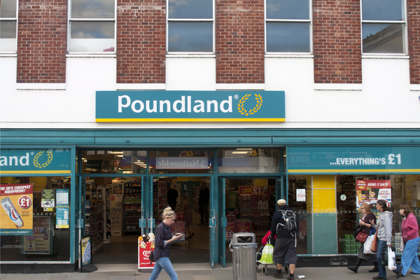 Poundland extends Free From range to more than 300 stores