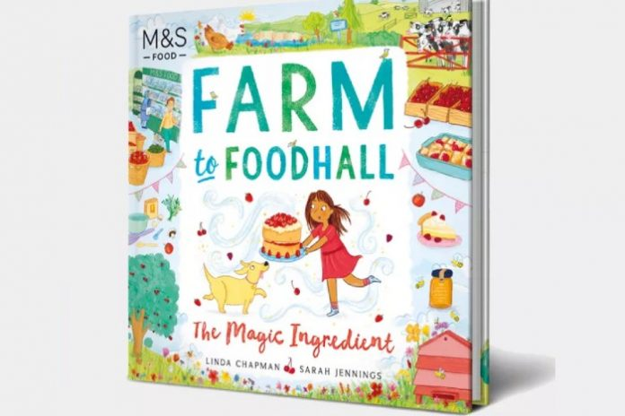 M&S Food publishes children's book on sustainability
