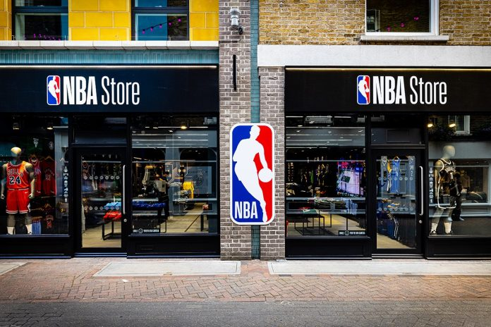 The NBA has opened the doors to its first UK flagship store, on London's Carnaby Street as it seeks to strengthens ties in Britain.