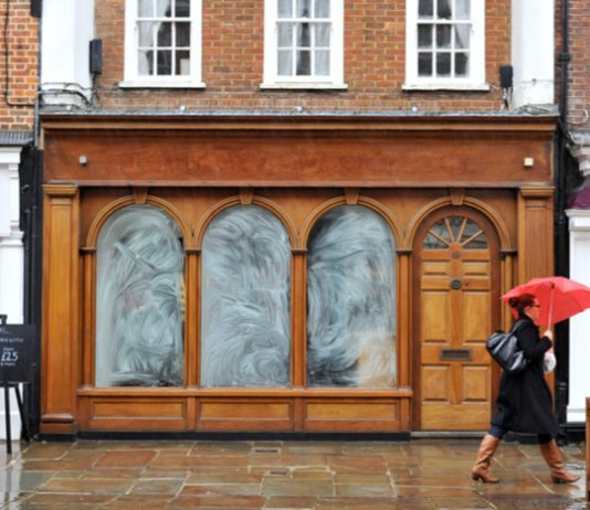 Number of empty shops continues to rise