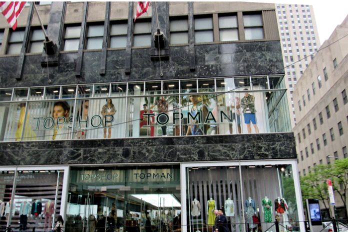 Topshop Arcadia administration store closures