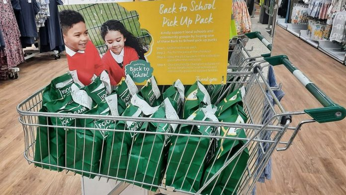 Morrisons launches back-to-school packs for shoppers to donate to help struggling families in time for the new school year.