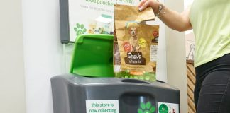 Pets at Home is trialling a new initiative to combat flexible pet food packaging waste.