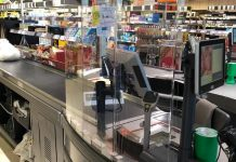Retail bosses have begun preparations to remove the plastic screens installed at tills as hopes of a return to normal shopping rise.