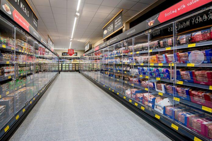 Aldi introduces fridge doors to cut carbon emissions
