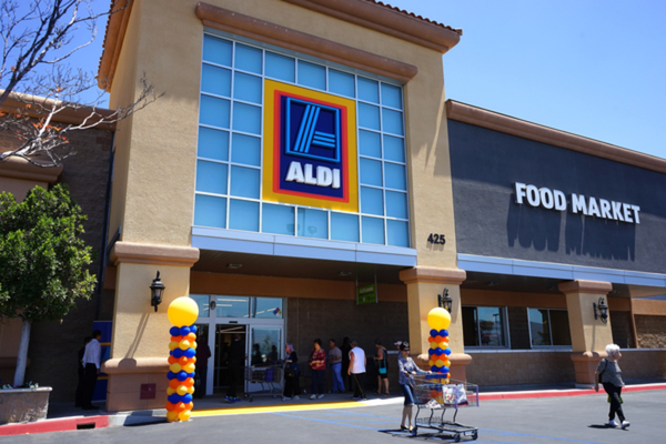 Some Aldi customers have threatened to boycott the supermarket as it announced it is set to trial its first checkout-free store.
