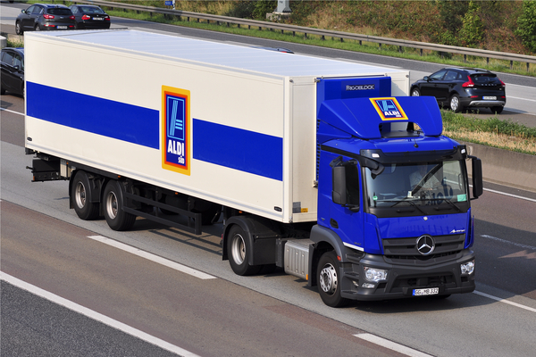 Aldi joins Tesco in increasing driver pay to address shortage crisis