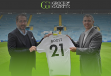 Boost Drinks sign as official global partner of Leeds United