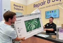 Dixons Carphone launches its recycling scheme allowing shoppers to return expanded polystyrene packaging to stores to be recycled for free.