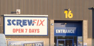Screwfix expands rapid delivery service to other cities