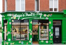 Anya Hindmarch has launched its Fruit & Veg greengrocer store concept, which will be available to visit until September 25.
