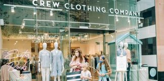Crew Clothing relocates & expands national flagship
