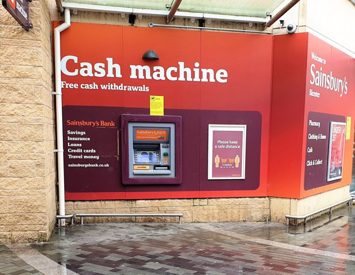 Sainsbury's in talks to offload banking division
