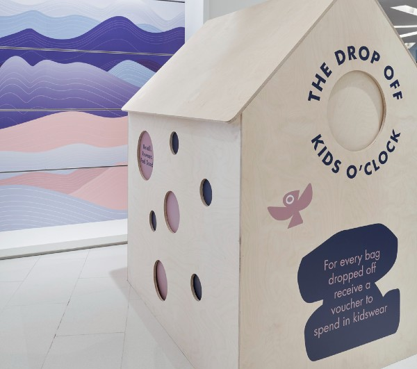 Harvey Nichols has partnered with Kids O'Clock to launch a childrenswear resale drop-off destination in its Knightsbridge store.