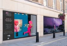 Great Portland Estates has transformed its retail space at 95 New Bond Street into a temporary immersive art exhibition