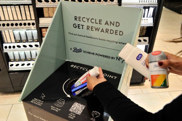 Following a 50-store trial, Boots will roll out the Recycle at Boots scheme to a further 650 stores up and down the country.