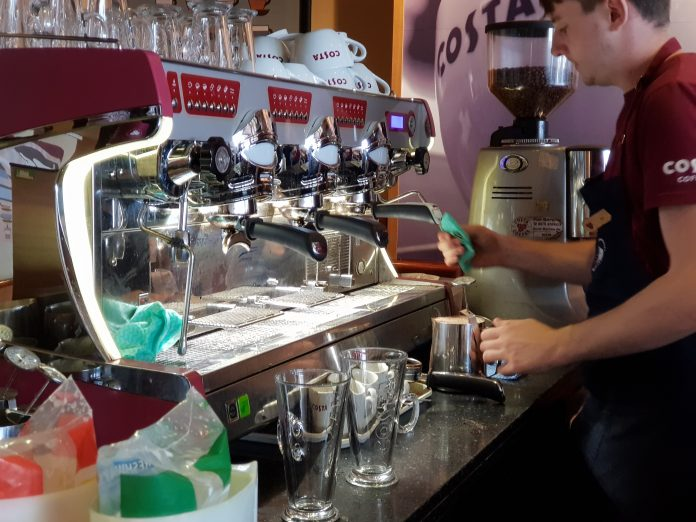 Costa Coffee has announced that all 14,500 of its store team members in UK company-owned stores will receive 5% pay increases.