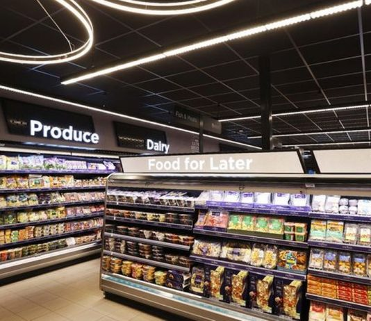 """Asda has opened the first premium """"Extra Special"""" store allowing shoppers to purchase deluxe supermarket merchandise in roadside locations."""