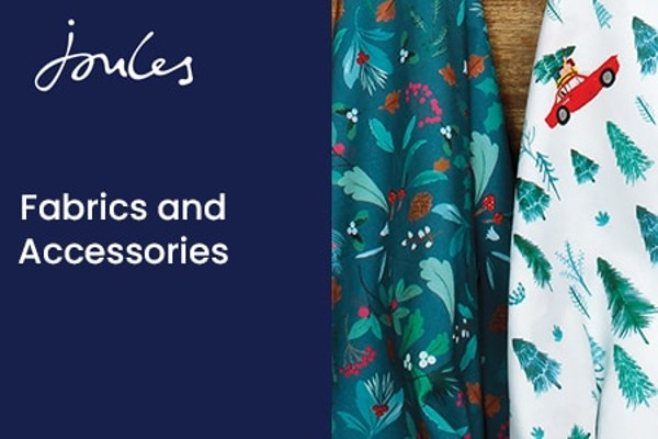 Hobbycraft has launched its second exclusive fabric collection with premium lifestyle brand Joules and A2V.