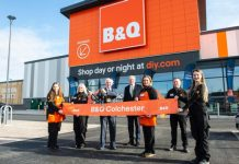 B&Q's has officially opened one of its larges stores in the last decade in Colchester.