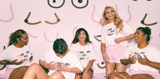 For breast cancer awareness month, PrettyLittleThing has launched a collaboration with CoppaFeel! to help raise awareness.