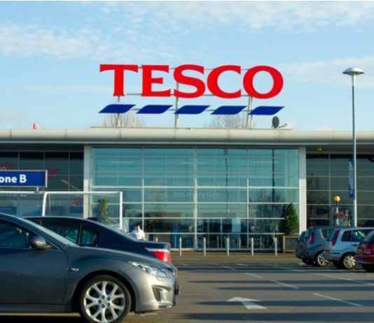 Tesco is trialling a new change to alcohol aisles in store to tackle an increased in thefts.