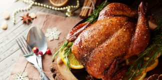 Shoppers are filling up their freezers with party food and turkey in time for the festive season early to avoid delays.