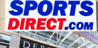 Debenhams Sports Direct
