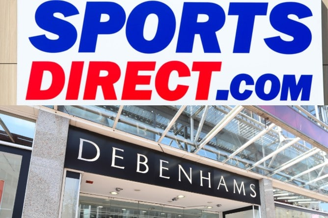 Debenhams Sports Direct