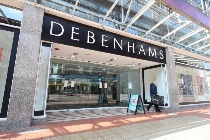 Debenhams store closures CVA administration Stefaan Vansteenkiste