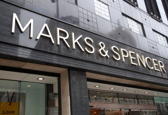 Marks and Spencer M&S Anthony Cassidy Arcadia Nathan Ansell